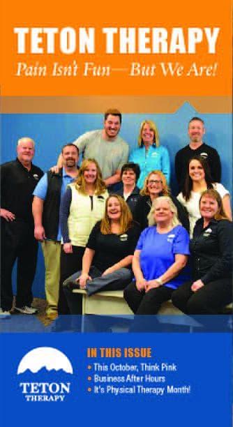 Teton Therapy, Physical Therapy, Riverton, Lander, Cheyenne, Sheridan, Wyoming